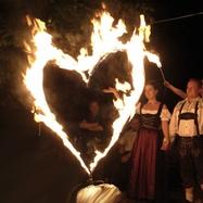 Feuershow Hochzeit Bayern